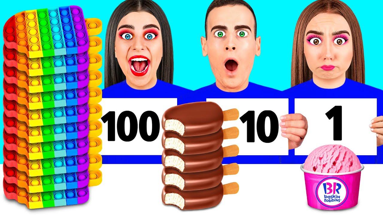 Download 100 слоев еды Челлендж #8