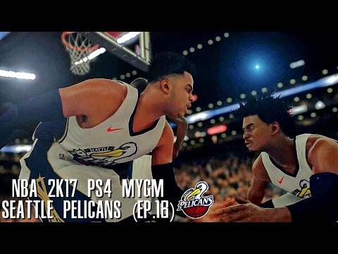 NBA 2K17 PS4 Seattle Pelicans MYGM - EPIC STARTING LINEUP INTRODUCTIONS!!! (EP.18)