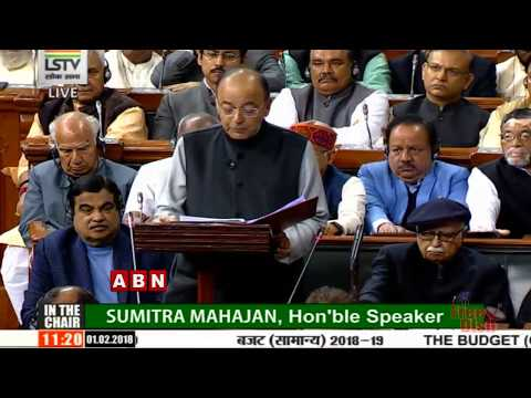 Arun Jaitley's Union Budget 2018 | Parliament Session | ABN