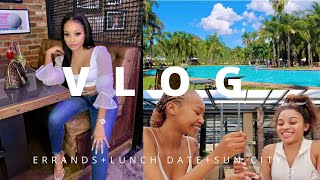 VLOG: SPEND THE WEEKEND WITH ME IN SUN CITY | South African Youtuber