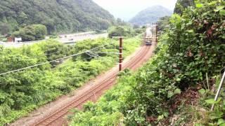 欧亜国際連絡列車100周年号記念号」大阪~敦賀間で運転されました。 前...