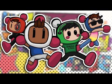 Super Bomberman R - Basically vs Daithi vs Moo vs Terroriser! (Nintendo Switch) |
