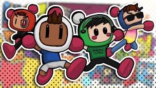 Super Bomberman R - Basically vs Daithi vs Moo vs Terroriser! (Nintendo Switch)