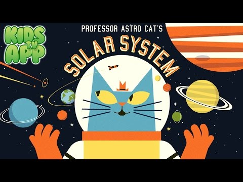 Professor Astro Cat's Solar System (Minilab Ltd) - Best App For Kids
