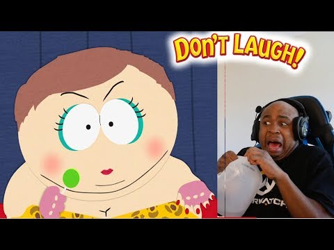 Eric Cartman's Most Outrageous Moments - South Park Try Not To Laugh Challenge