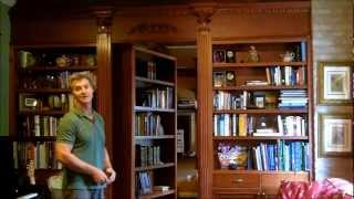 Custom Millwork: Bookcase With Hidden Door In New Orleans
