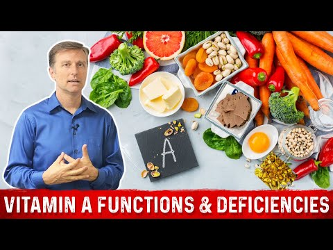 Vitamin A: Sources, Functions, Deficiencies - Dr. Eric Berg