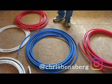 HOW TO INSTALL PEX PIPE – WHY PEX PIPE IS BETTER AND CHEAPER THAN COPPER PIPE