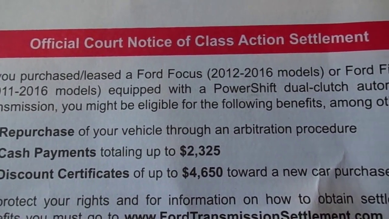 Ford Focus Class Action Lawsuit | 2018-2019 New Car Relese Date