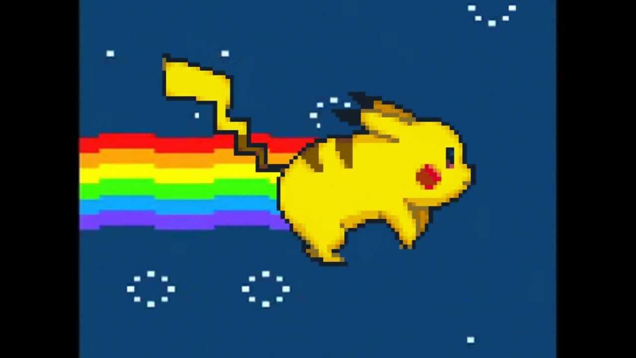 Cute Cat Moving Wallpaper Nyan Pikachu Nyan Cat Spoof Original Youtube