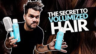 THE SECRET TO VOLUMIZED HAIR 7-7-20 10:00 AM EST | Woke Up This Way 047 #HairShow