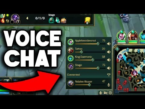 VOICE CHAT IS HERE!!! YOU CAN TALK WITH PEOPLE IN GAME!! GOOD OR BAD?... (League Of Legends)