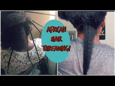 What 10 Days Of African Hair Threading Did To My Natural Hair!!!