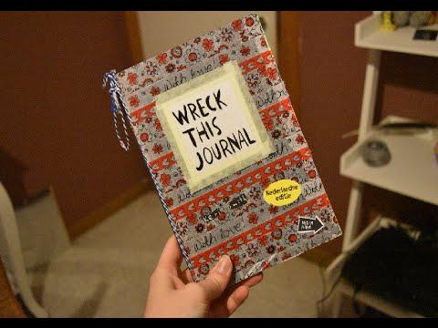 DUTCH ASMR - Wreck this journal