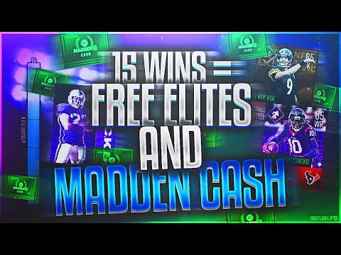 GET YOUR FREE ELITES & MADDEN CASH THE FASTEST AND EASIEST WAY POSSIBLE! Madden Mobile 18