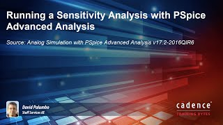 Running a Sensitivity Analysis with PSpice Advanced Analysis