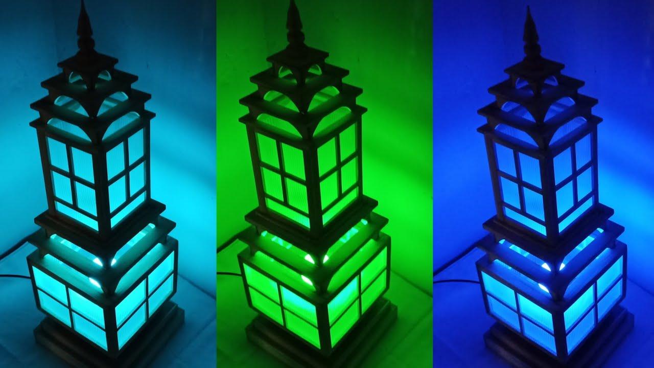 Kerajinan dari bambu || bamboo lanterns || 79 - YouTube