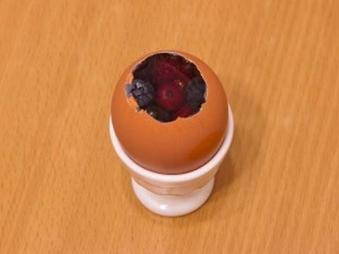 Сладкие заливные яйца