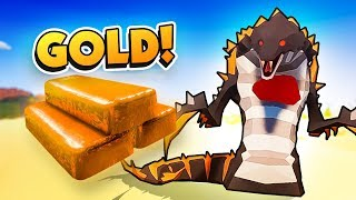 CAN GOLD DEFEAT THE DESERT DEMON   Desert Skies Gameplay Raft Clone
