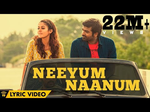 Naanum Rowdy Dhaan - Neeyum Naanum | Lyric Video | Neeti Mohan, Anirudh | Thamarai | Vignesh Shivan