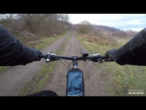 Вело-покатушка зимою 100 км Лісами , болотами . Жесть . Страшно . Круто .