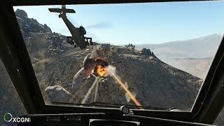 Возможно Лучшая Миссия на Вертолетах в Играх! Боевой Apache AH-64 в Medal of Honor 2010