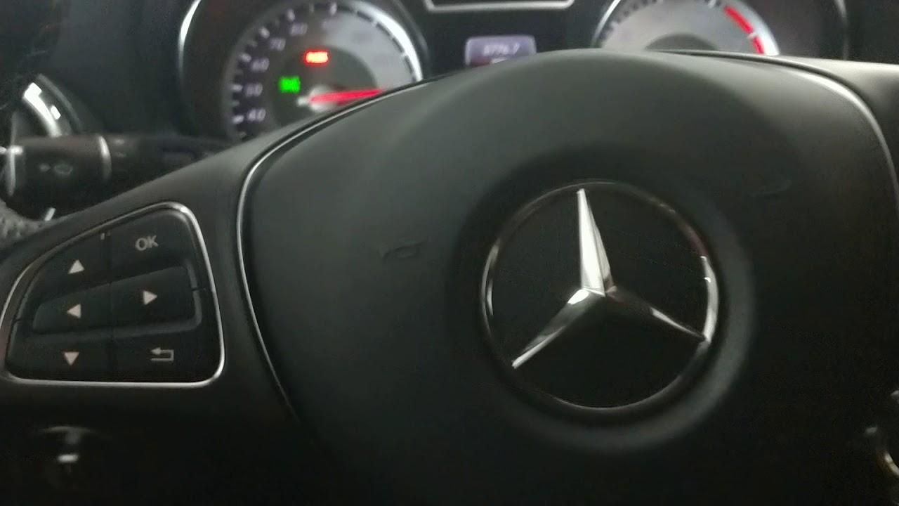 2014-2018 Mercedes Benz GLA-Class GLA250 Service Light Reset