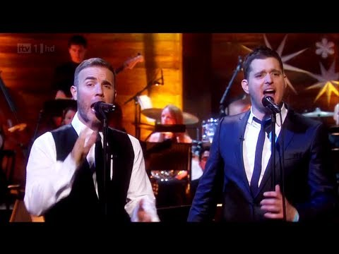 Rule the World - Gary Barlow & Michael Bublé (Michael Bublé Home for Christmas 2011)[lyrics](live)