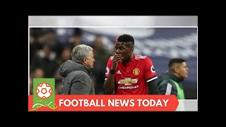 Jose Mourinho insisted he does not drop Paul Pogba is a form of punishment