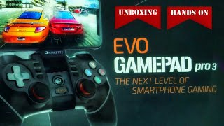 EVO Game Pad Pro 3 | Unboxing | Hands On