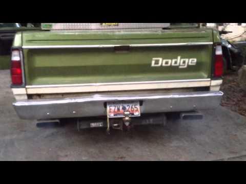 Gas engine dieseling doge d100