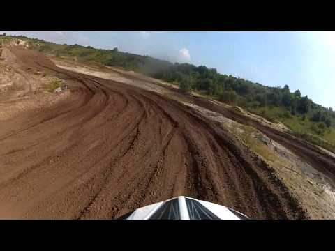 First ride on my new TM MX 300 2013 with Kayaba's