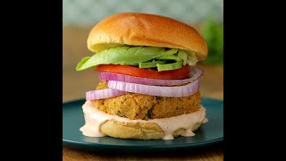 Chickpea Cauliflower Burger