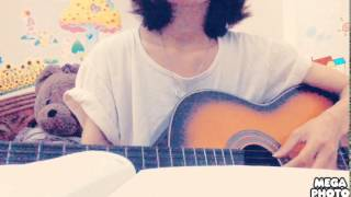 Mưa bão guitar cover by Hường Kẹo
