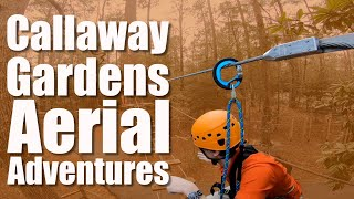 Vertical Trek Innovations Training and Retrofit at Callaway Gardens
