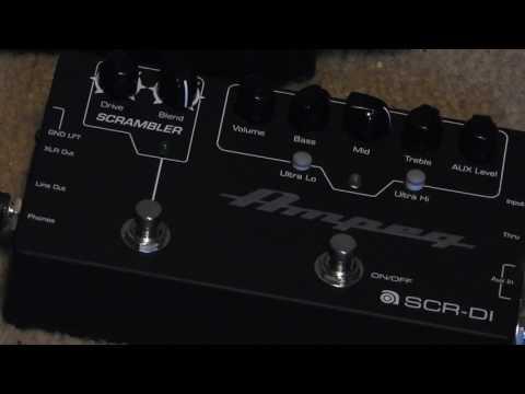 Ampeg SCR DI A Practical Review