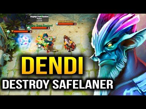 Dendi Leshrac: Totally Destroyed Enemies Safelaner Dota 2 thumbnail