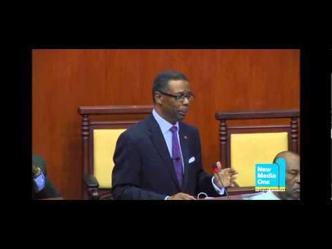 Hon. Harold Lovell presented the 2013 Budget Statement Part 5