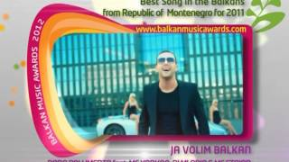 Balkan Music Awards 2012 NOMINATIONS Montenegro