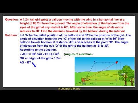 Trigonometry Solutions CBSE 10th Maths | Question 14
