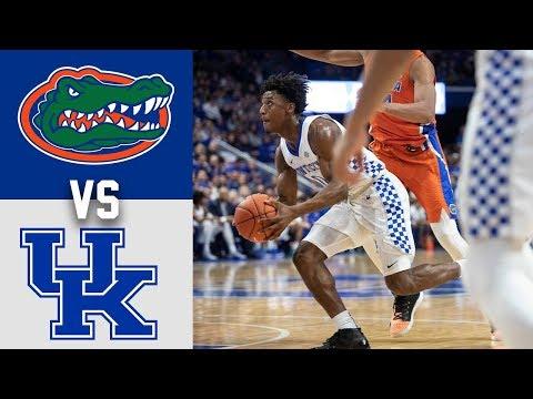 Florida Vs #10 Kentucky Highlights 2020 College Basketball