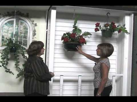 Invisible Plant Hanger For Flower Baskets Houseplants And Holiday Decorations
