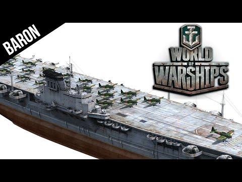 World of Warships Tier 10 Japanese Carrier, Montana and Yamato Killer! Hakuryu Aircraft Carrier
