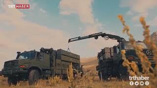 """Yerli hava savunma sistemi """"HİSAR""""a ait test görüntüleri yayınlandı"""