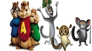 Alvin i Wiewiórki vs Król Julian Wyginam śmiało ciało