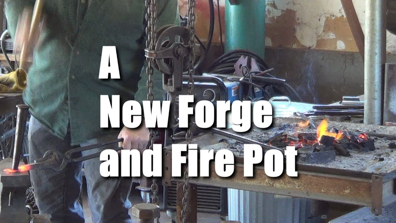 Fire Pot Forge Build OMG 2018 1