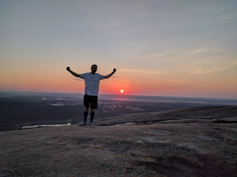 Climbing Stone Mountain To See The Sunrise July 9 2017