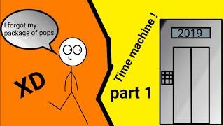 When a gamer finds a time machine part 1 alex GTX animations