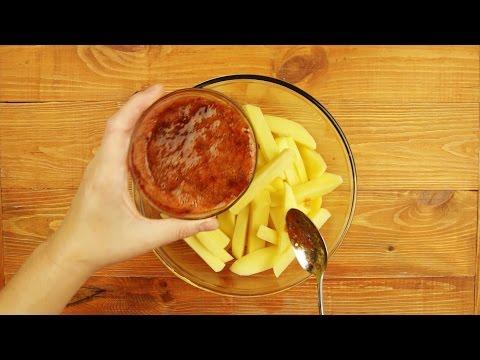 Картошка фри без масла в духовке рецепт с фото