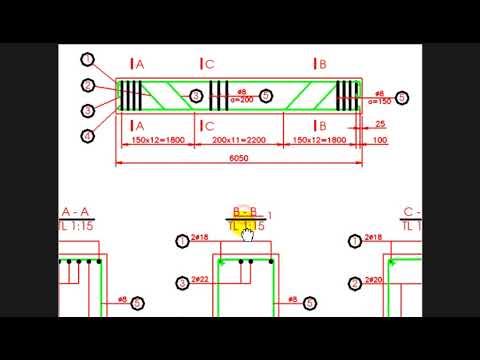 Vẽ kỹ thuật Xây dựng | Bản vẽ kết cấu Bê tông cốt thép | Phần 2 – Quy ước vẽ kết cấu BTCT